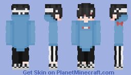 Sapnap but with George's shirt Minecraft Skin