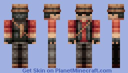 Sniper (Blue Version In Desc) Minecraft Skin