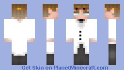 Scientist Minecraft Skin