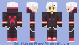 Rubius White Dark Minecraft Skin