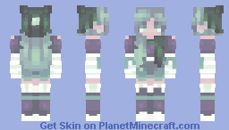 snowfall on a summer's night Minecraft Skin