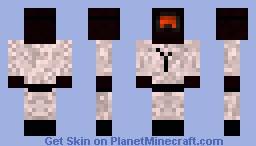 Snow Soldier Minecraft Skin