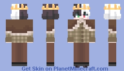 Snowy Bee Minecraft Skin