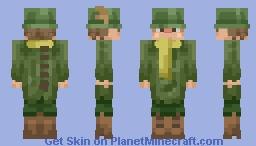 Very bad Snufkin skin Minecraft Skin