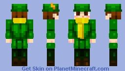 Moomin Series: Snufkin!! Minecraft Skin