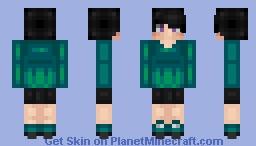 ❆𝓝𝓲𝓷𝓳𝓪𝓖𝓲𝓻𝓵2024❆ So What If I'm Shy Minecraft Skin