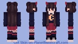 * . ~ egirl ~ . * Minecraft Skin