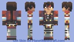 Sol Badguy Minecraft Skin