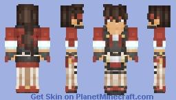 Guilty Gear -Strive- Sol Badguy Minecraft Skin