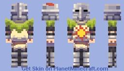 [| Dark Souls |] Solaire of Astora Minecraft Skin