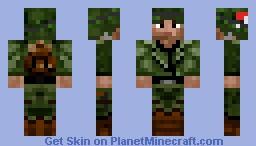 soldat américain 2.1 Minecraft Skin