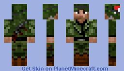 soldat américain 2.2 Minecraft Skin