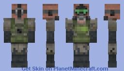 Survivorㄝ (Post-Apocalyptic) Minecraft Skin