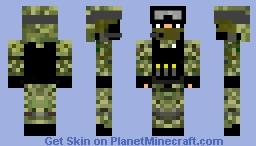 Pixel Warfare  Soldier Minecraft Skin