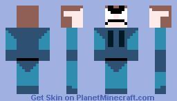 Metal Gear Awesome Snake Minecraft Skin