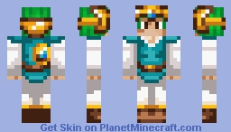 Solo Dragon Quest IV Minecraft Skin