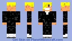 Some Gentlemen in Smoking Minecraft Skin