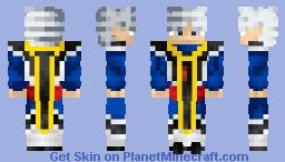 Son Goku Mastered Ultra Instinct Angel Of Destruction Dragon Ball Super Minecraft Skin