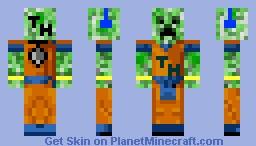 son creeper Minecraft Skin