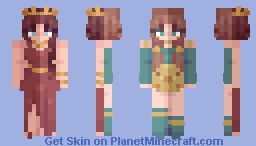 -Don't you dream impossible things?- // Skintober 3 Minecraft Skin
