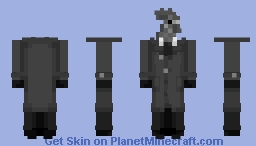 """Rooster detective! ~ Santino """"Sonny"""" Featherland 🚬 Minecraft Skin"""