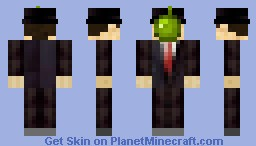 The Son of Man Minecraft Skin