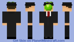 Ceci n'est pas un bloc. (The Son of Mer) Minecraft Skin