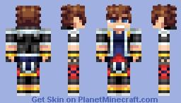 Sora(Kingdom Hearts) Minecraft Skin