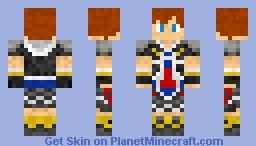 Sora Minecraft Skin
