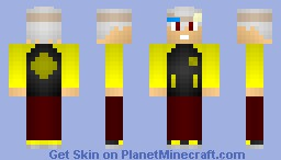 Soul from Soul Eater Minecraft Skin