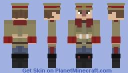 Commissar Minecraft Skin