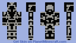 Space Soldier (Updated) Minecraft Skin