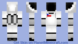 Future Space Suit Minecraft Skin