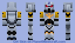Space Wolves WarHammer Space Marine Minecraft Skin