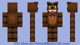 FNAF Freddy Minecraft Skin