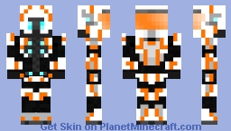 Spartan IV White and Orange