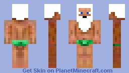 speedo grampa Minecraft Skin