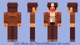 Spelunker Minecraft Skin