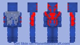 Spider-Man 2099 | Marvel Comics Minecraft Skin