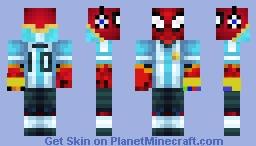 Spider-Man Gauntlet (Soccer player) Minecraft Skin