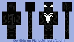 Black Spider-Man Suit Minecraft Skin