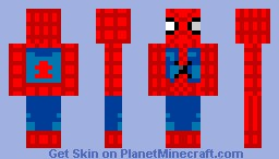 spiderman (100 downloads!!! :D) Minecraft Skin