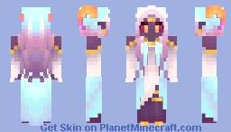 Spirit of the Warped Forest [Nether Contest Entry] Minecraft Skin