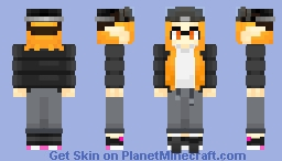 Splatoon OC - [idk i was bored pt.10] Minecraft Skin