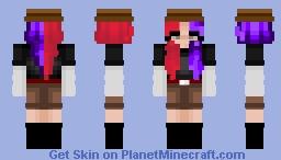 Red and purple? Minecraft Skin