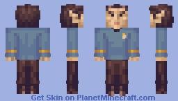 Mr. Spock Star Trek TOS Minecraft Skin