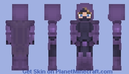 Spoiler ( DC Universe ) (Wave 8 // Secret Skin) Minecraft Skin