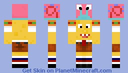 Best Spongebob Minecraft Skins Page Planet Minecraft - Spongebob skins fur minecraft