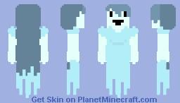 Spooky | 🎃 Spongie's Skintober Event! 🎃| Day 1 ~Ghosts Minecraft Skin
