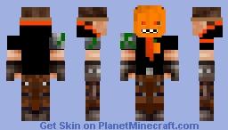 Pumpkin Mask Revamp Minecraft Skin